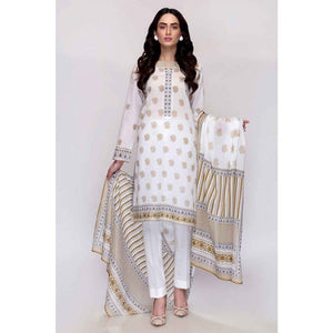 Gul Ahmed 3 PC Printed Lawn Suit CL-672 A
