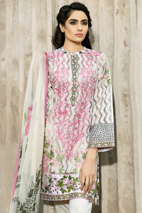 Ready to wear Printed Lawn Stitched 3 Piece Suit B-38