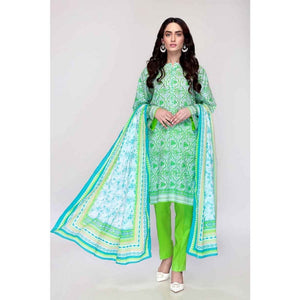 Gul Ahmed 3 PC Printed Lawn Suit CL-757 B