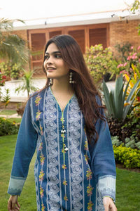 Gul Ahmed Mother Collection Blue CL-640