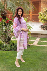 Gul Ahmed Printed Lawn Unstitched 3 Piece Suit CL-644 B