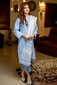 Ready to wear Gul Ahmed Printed Lawn 3 Piece Suit CL-480 B