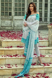 Ready to wear  Gul Ahmed Printed Lan Stitched 3 Piece Suit CL-536 A