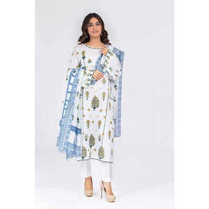 Gul Ahmed 3 PC Printed Lawn Suit CL-688 B