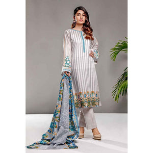 Gul Ahmed 3 PC Printed Lawn Suit CL-698 B