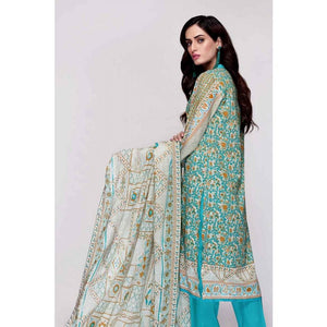 Gul Ahmed 3 PC Printed Lawn Suit CL-720 B