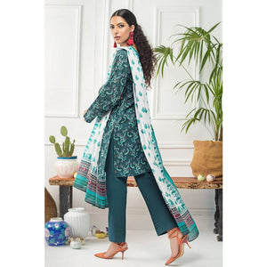 Gul Ahmed 2 PC Unstitched Printed Cambric Suit TCN-57