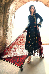 Ready to wear Gul Ahmed Embroidered Lawn 3 Piece Suit PM-281