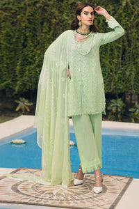 Ready to Wear Embroidered Swiss Voile stitched 3 Piece Suit LSV-10