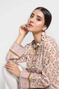 Gul Ahmed Printed Cotton Stitched Kurties-SK-57