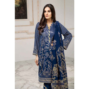 Ready to wear  Gul Ahmed Printed Lawn 3 Piece Suit CL-530 A