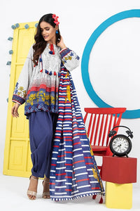 Komal VOL 2 By LSM Printed Lawn Stitched 3 Piece Suit KP-2025
