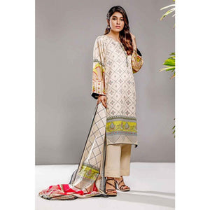 Gul Ahmed 3 PC Printed Lawn Suit CL-710 A