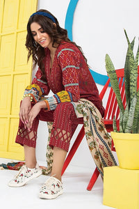 Komal VOL 2 By LSM Printed Lawn Stitched 3 Piece Suit KP-2023