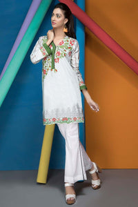 Gul Ahmed Pre-Fall Cambric unstitched, Kurti/Single Shirt Red 1PC SCE-58