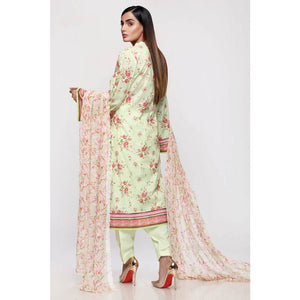 Embroidered Lawn Unstitched 3 Piece Suit BCT-24