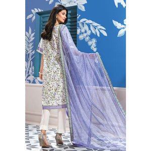 Embroidered Jacquard Unstitched 3 Piece Suit BM-108
