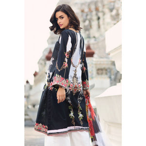 Embroidered Jacquard Unstitched 3 Piece Suit BM-111