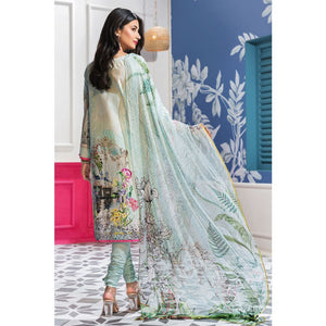 Embroidered Jacquard Unstitched 3 Piece Suit BM-137