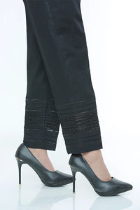 LSM Embroidered Black Stitched Trousers S20-TR-Black-1600-ST