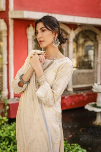Lakhani Chikan-Kari 3 Piece Unstitched Embroidered Suit CK-9014