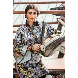 Ready to Wear Printed Lawn stitched 3 Piece Suit CL-460 A