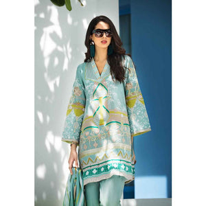 Embroidered Lawn Unstitched 3 Piece Suit CL-508 B