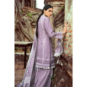 Embroidered Lawn Unstitched 3 Piece Suit CL-563