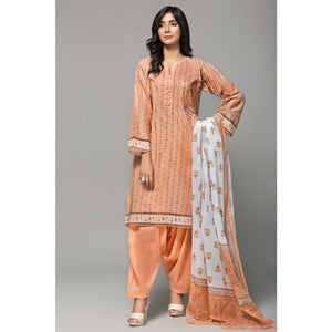 Printed Lawn Unstitched 3 Piece Suit CL-648 B