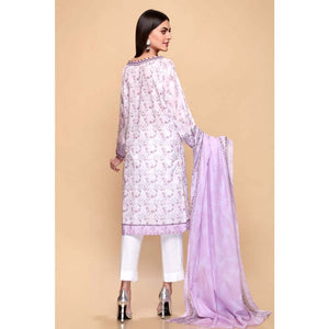 Printed Lawn Unstitched 3 Piece Suit CL-652 B