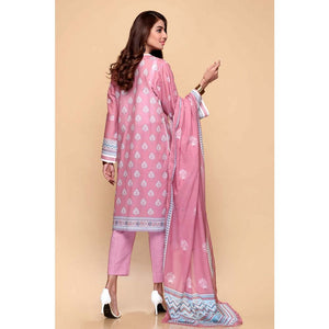 Printed Lawn Unstitched 3 Piece Suit CL-663 A