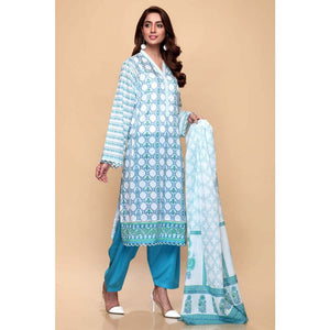 Printed Lawn Unstitched 3 Piece Suit CL-664 A