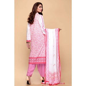 Printed Lawn Unstitched 3 Piece Suit CL-665 B