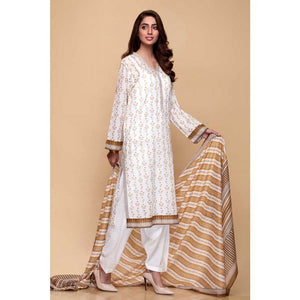 Printed Lawn Unstitched 3 Piece Suit CL-670 A