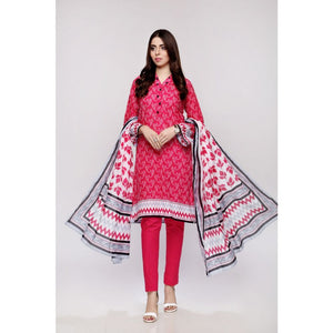 Gul Ahmed Digital Printed Lawn 3 Piece Suit CL-690 A
