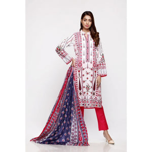 Gul Ahmed Digital Printed Lawn 3 Piece Suit CL-694 A