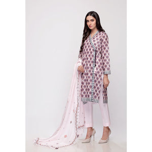 Gul Ahmed Digital Printed Lawn 3 Piece Suit CL-706 A