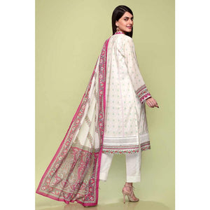Printed Lawn Unstitched 3 Piece Suit CL-715 B