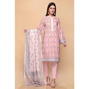 Printed Lawn Unstitched 3 Piece Suit CL-716 A