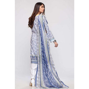 Ready to Wear Gul Ahmed Printed Lawn Stitched 3 Piece Suit CL-717 B