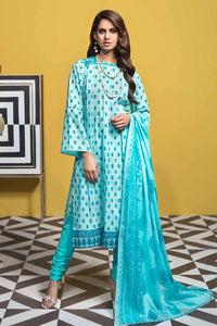 Gul Ahmed 3PC Unstitched Printed Lawn Suit CL-723 B