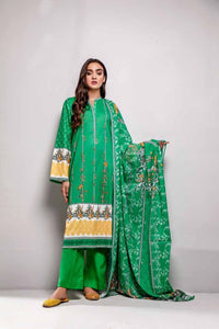 Gul Ahmed 3PC Printed Lawn Suit CL-763 B