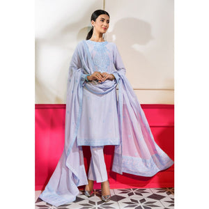 Embroidered Lawn Unstitched 3 Piece Suit CL-790