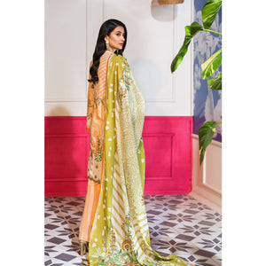 Embroidered Lawn Unstitched 3 Piece Suit CL-793 A