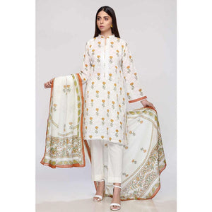 Printed Lawn Unstitched 3 Piece Suit CL-794 B