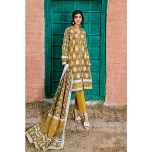 Printed Lawn Unstitched 3 Piece Suit CL-803 A