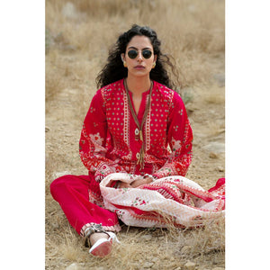Printed Lawn Unstitched 3 Piece Suit CL-814 B