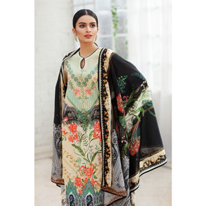 Embroidered Lawn Unstitched 3 Piece Suit CL-824