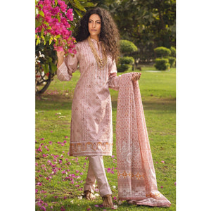 Embroidered Lawn Unstitched 3 Piece Suit CL-828 A