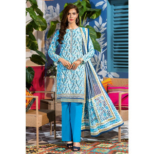 Embroidered Lawn Unstitched 3 Piece Suit CL-830 B